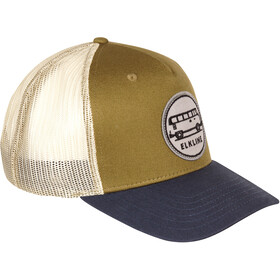 Elkline Driver Cap, olijf/blauw